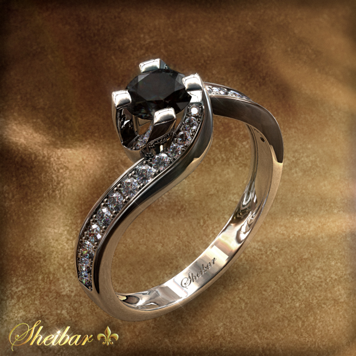 STORM  BLK RING